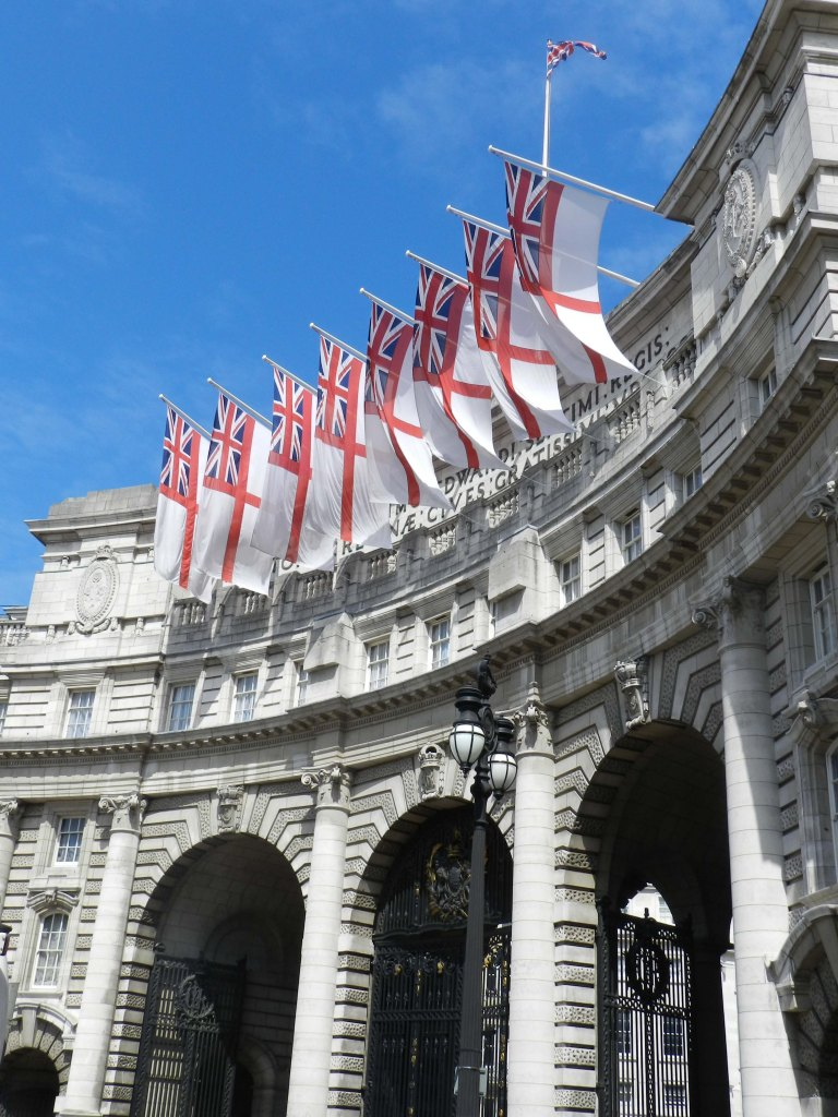 Admiralty Arch - Arches with Flags