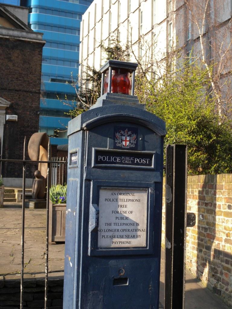 Old Police Box - Aldgate