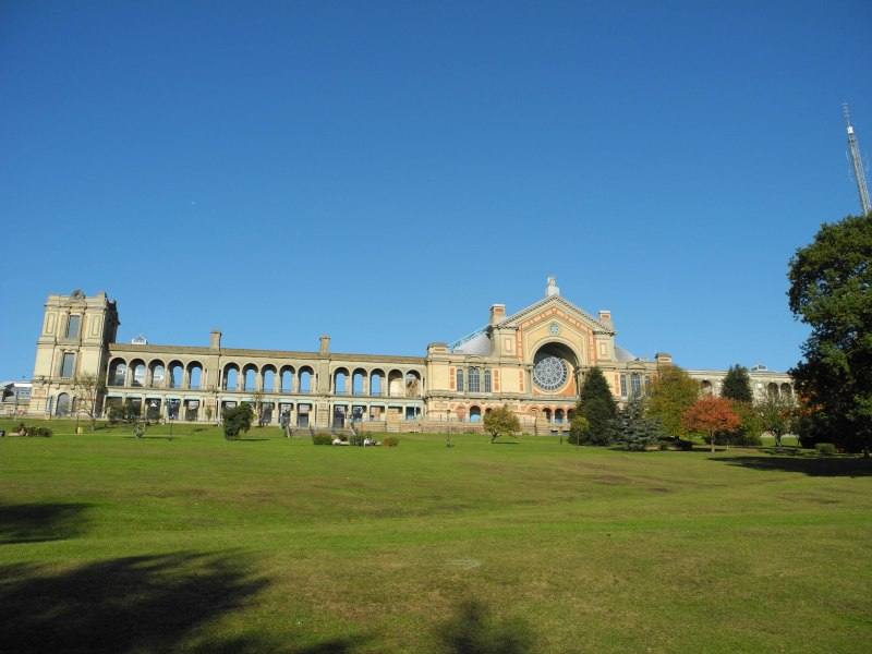 Another Wide view of Alexandra Palace