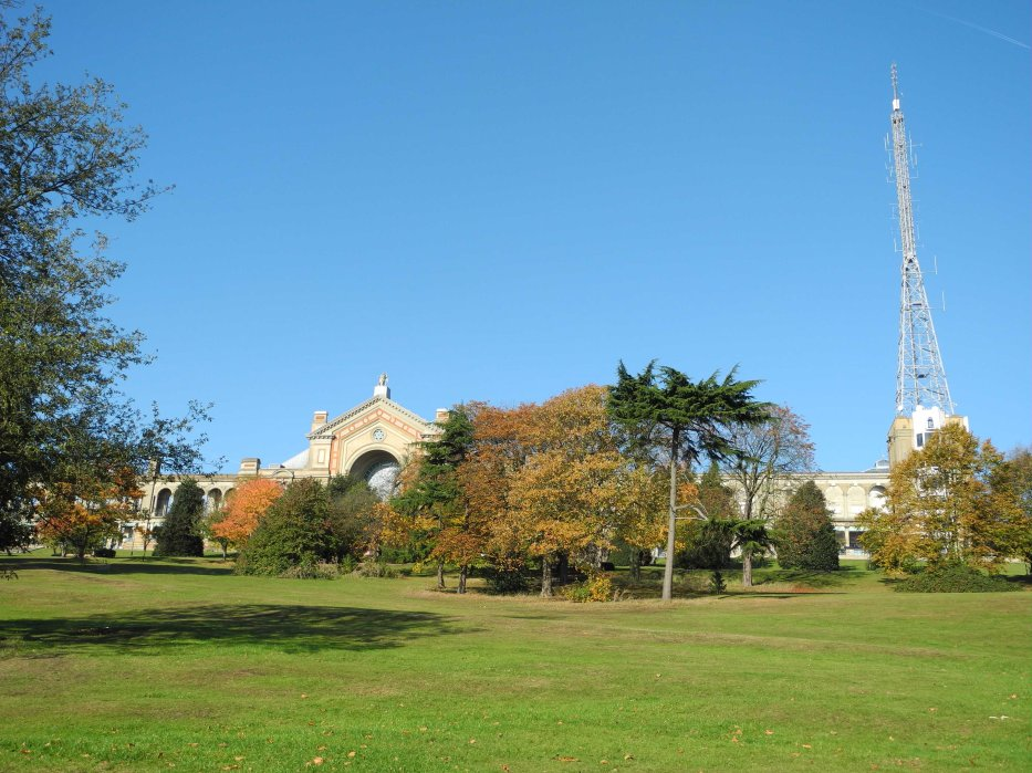 East View of Alexandra Palace