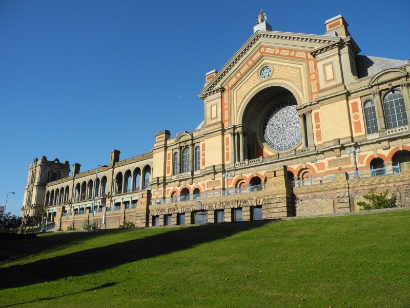 Front of Alexandra Palace