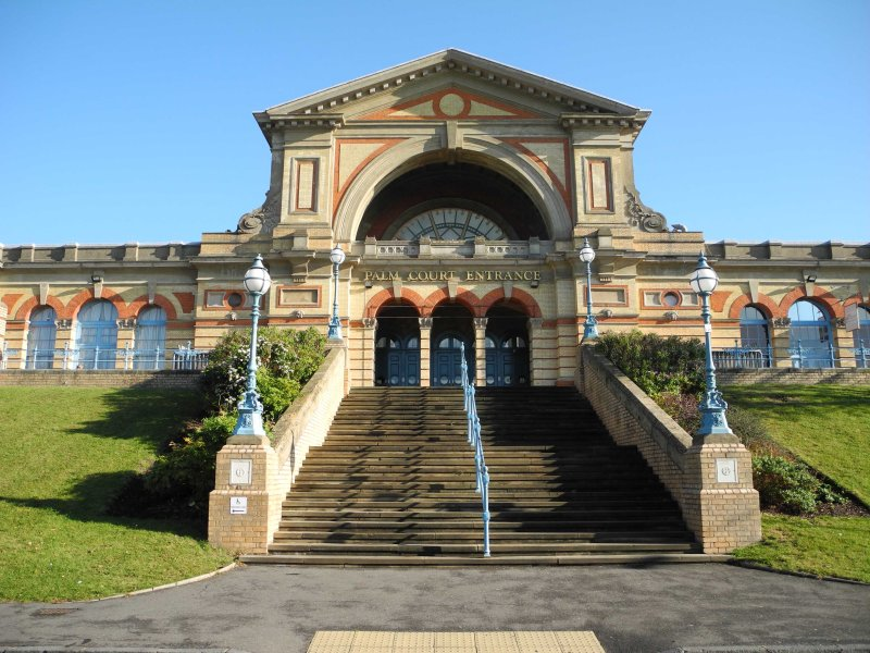 East Entrance of Alexandra Palace