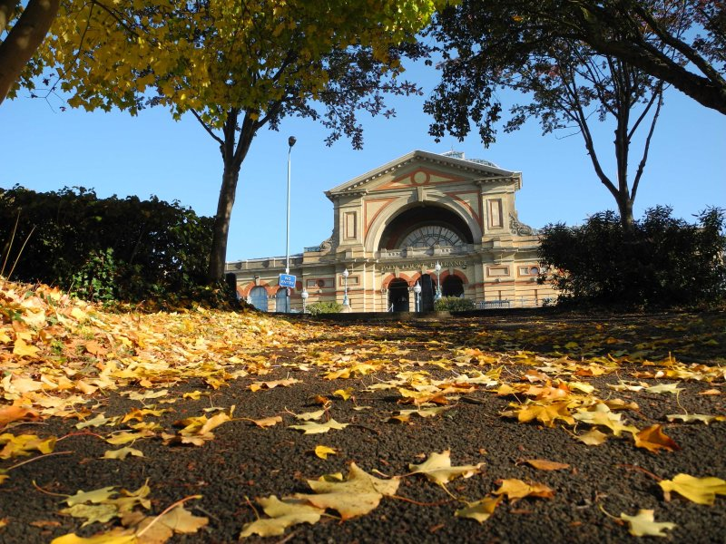 Autumn view of Alexandra Palace