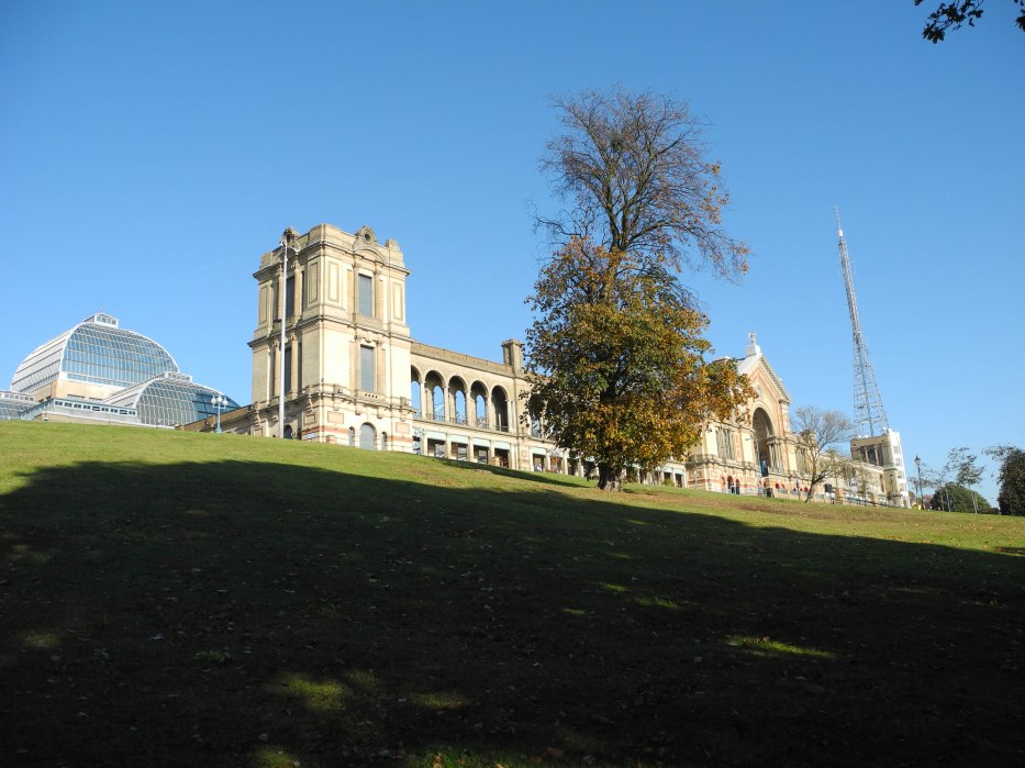 Wide view of Alexandra Palace