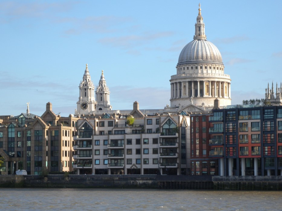 View of St Paul's from Bankside