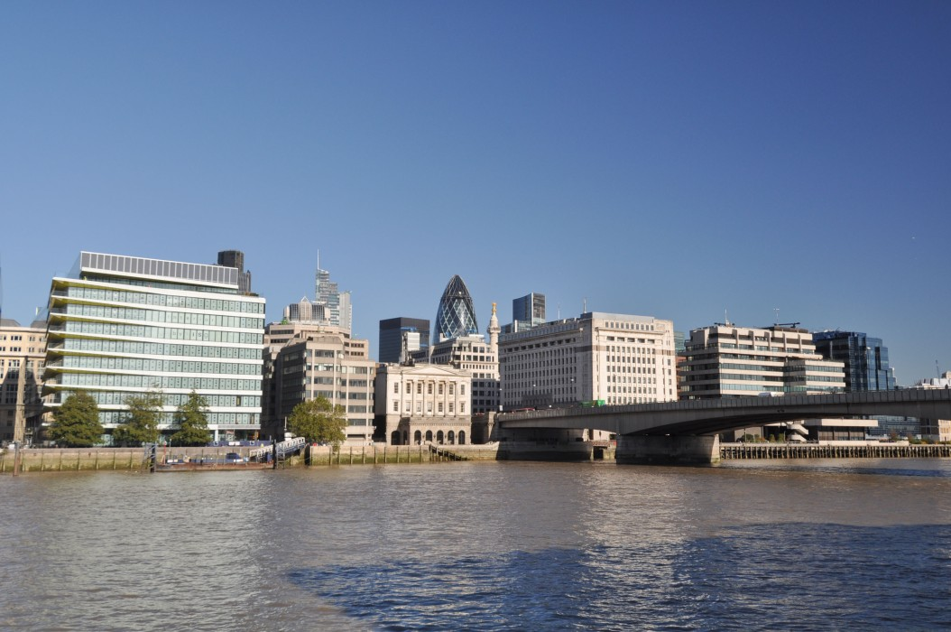 View across the River from Bankside