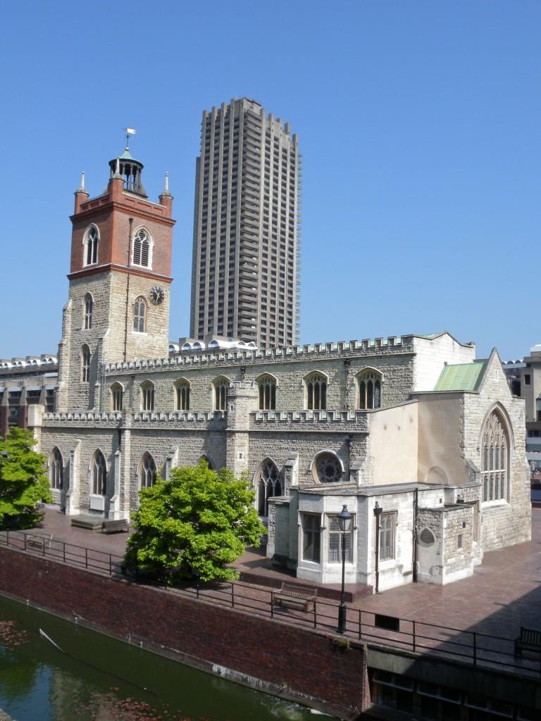 St Giles Church - view
