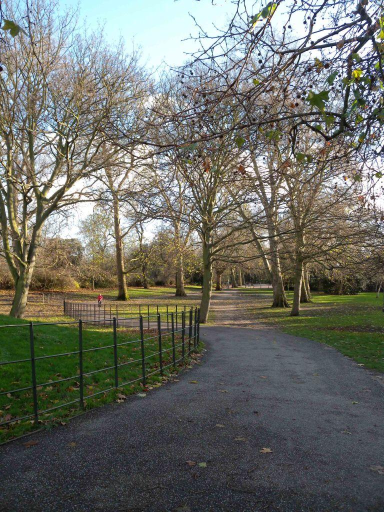 Battersea Park path