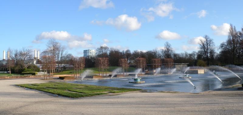 Water feature - Battersea Park