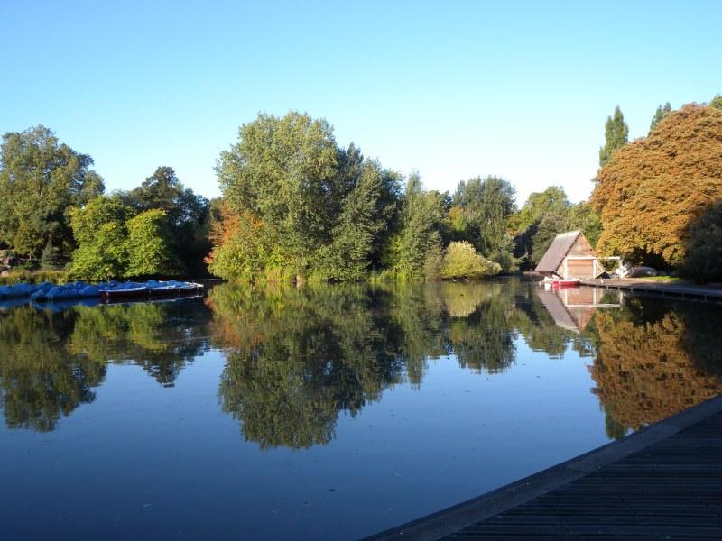 Boating Lake Battersea Park