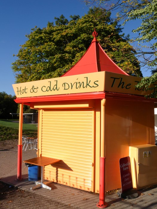 Snack hut in Battersea Park
