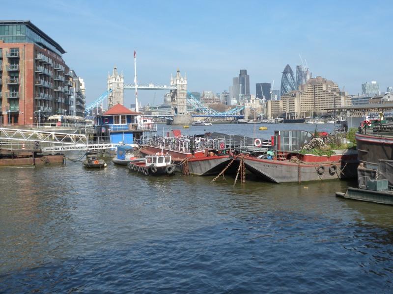 City of London from Saviour's Dock