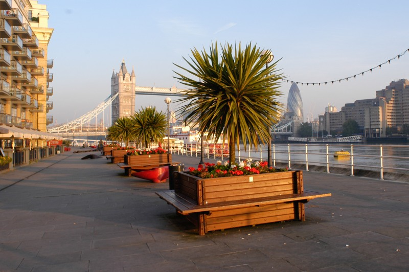 Butlers Wharf by Design Museum