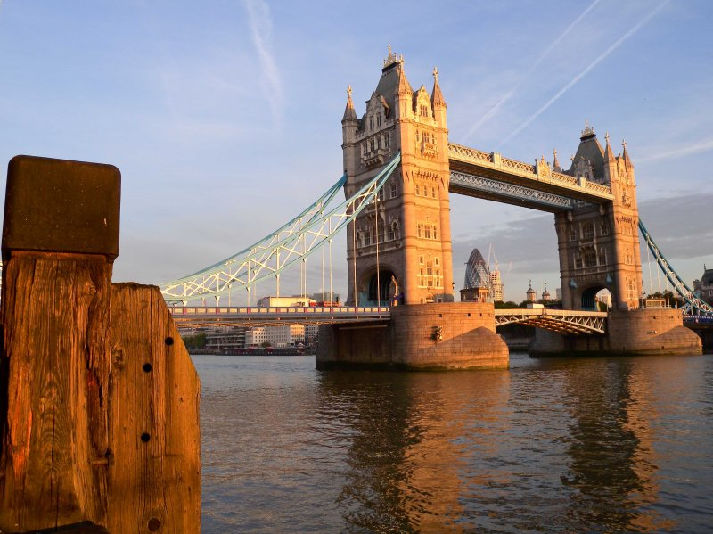 Tower Bridge from Butlers Wharf West