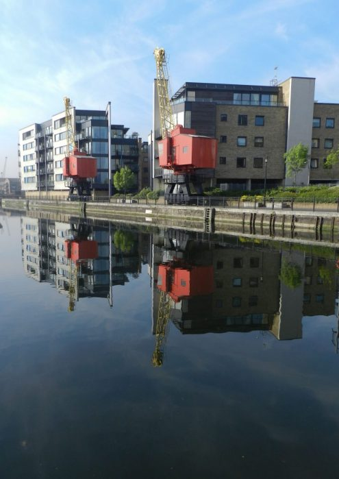London Runs and Photo Routes - Poplar Dock Riverside Apartments