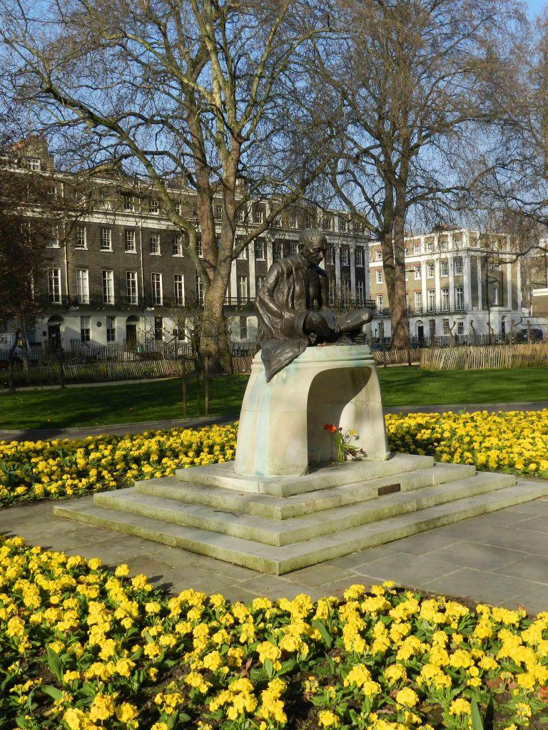 Gandhi memorial - Tavistock Square