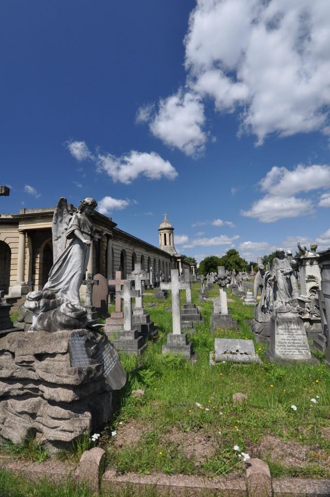 Brompton Cemetery View 1