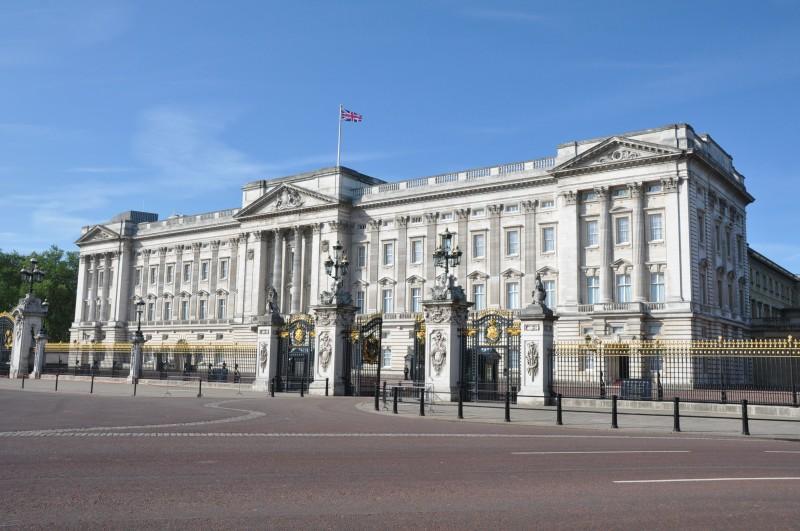 Buckingham Palace - early morning