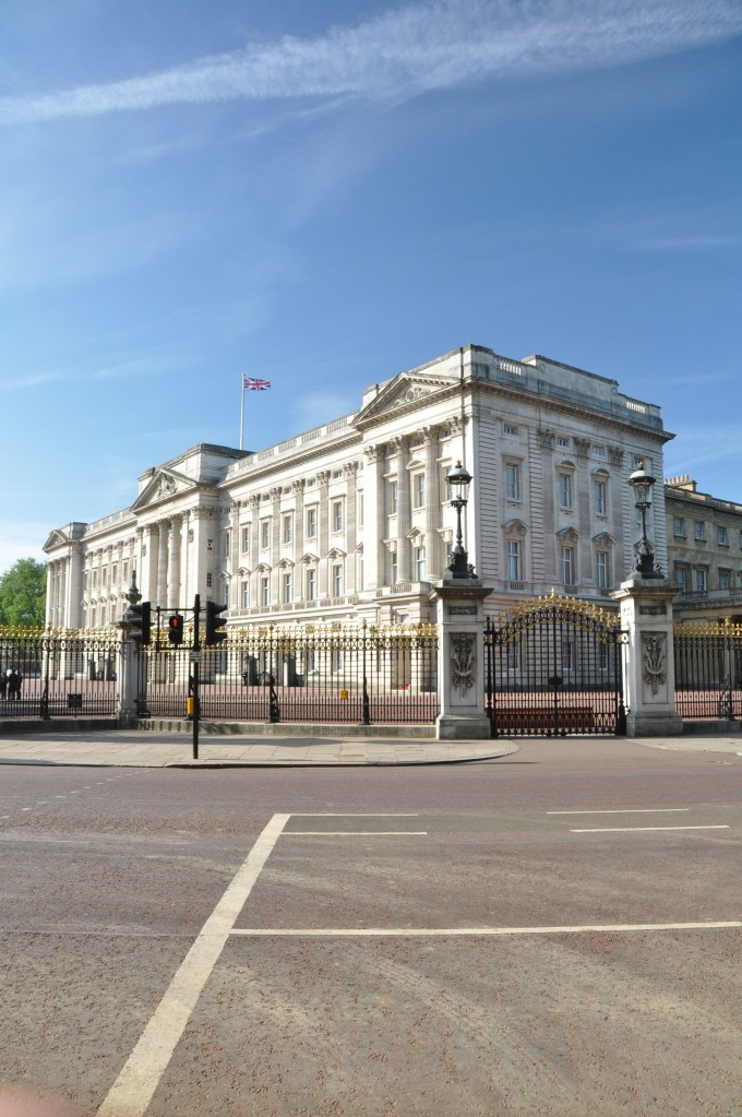 Buckingham Palace side view