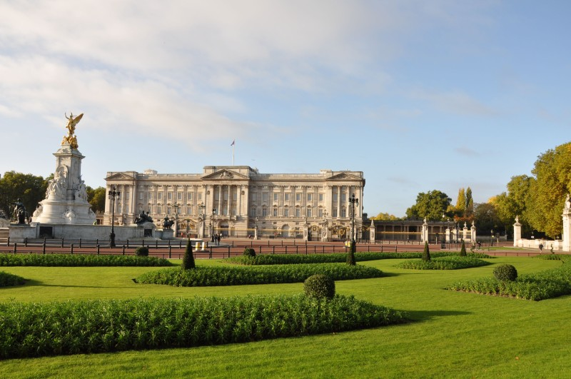 Buckingham Palace - Morning View