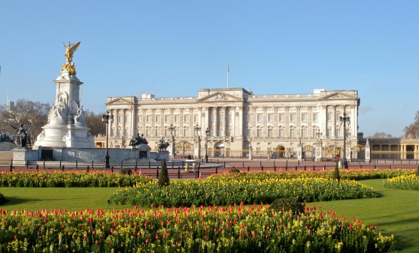 Buckingham Palace - alternative view