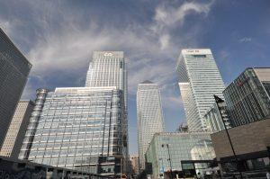 London Runs and Photo Routes - Canary Wharf - Blackwall basin