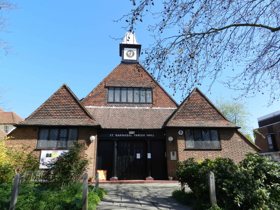 St Barnabas Parish Hall - Dulwich Village