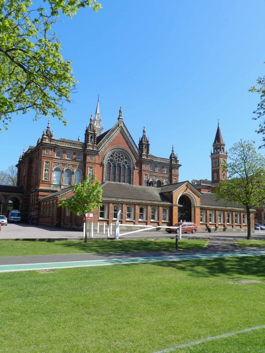 Dulwich College from inside the grounds