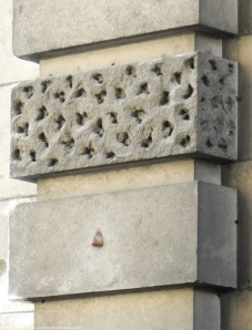 Wellingtons Nose on Admiralty Arch