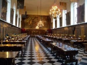 Dining hall Royal Hospital Chelsea