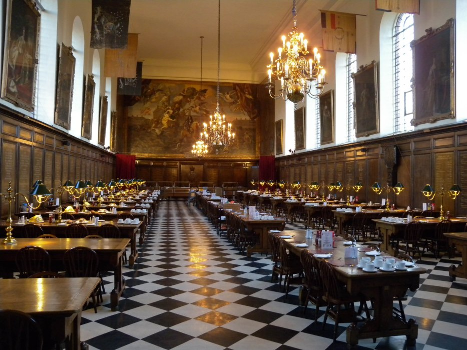 Dining hall Royal Hospital Chelsea