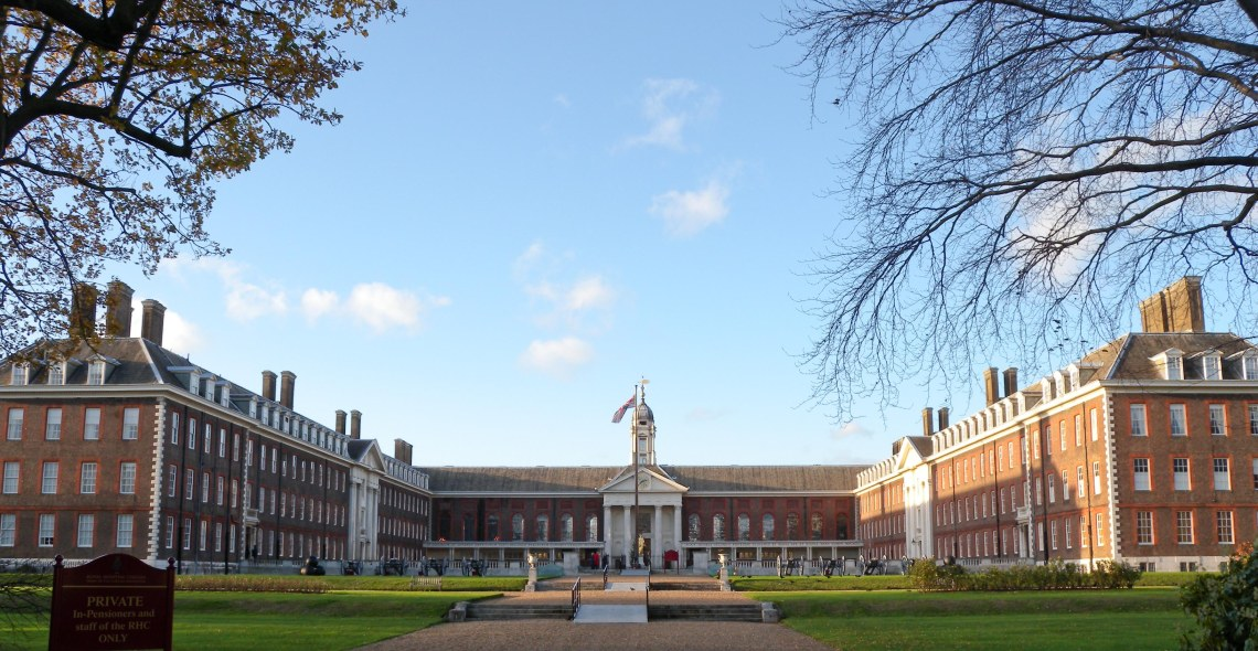 Royal Hospital Chelsea - Front view
