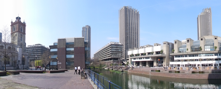 Barbican Centre setting View