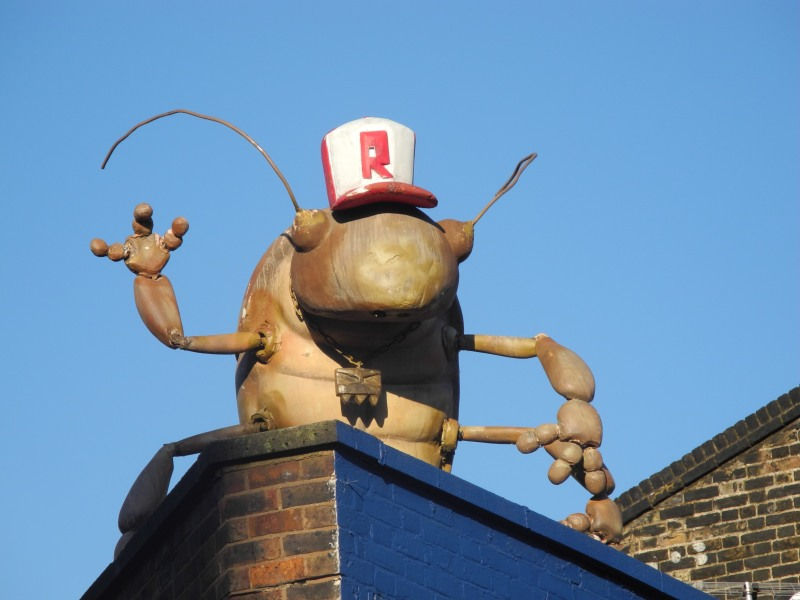 Rooftop Art -Great Easter Street - Holywell road -