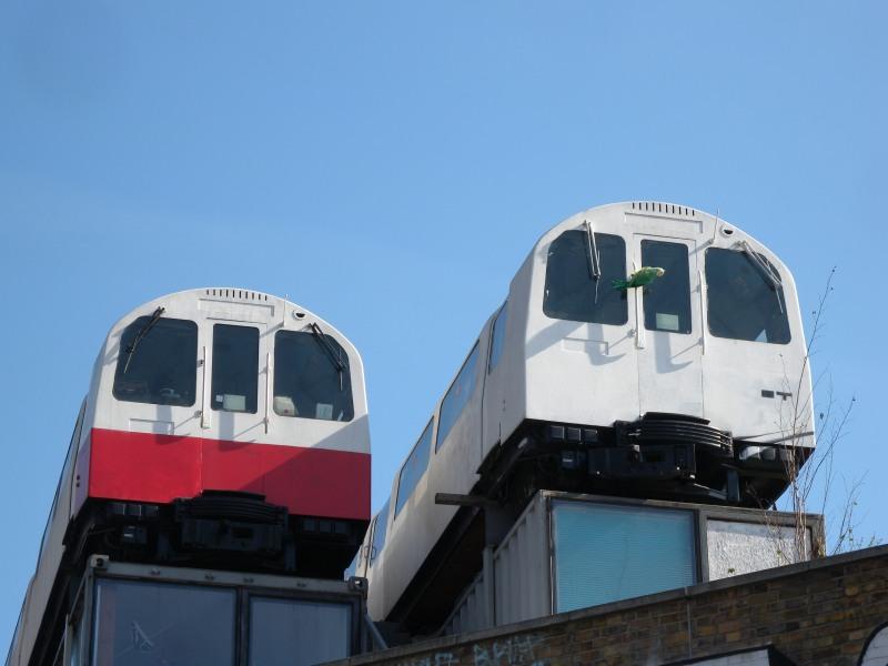 Tube Train Art