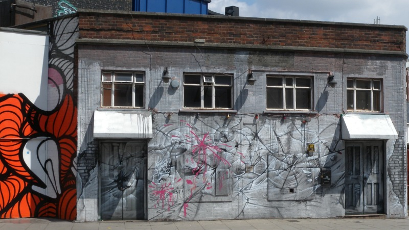 Building Art - Great Easter Street - Holywell road