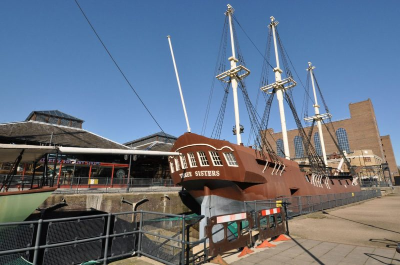 London Runs and Photo Routes - Tobacco Docks View