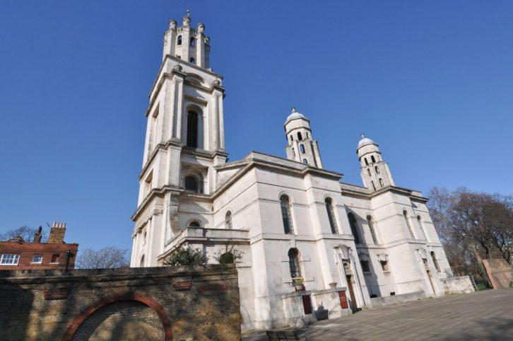 London Runs and Photo Routes - St George in the East Church