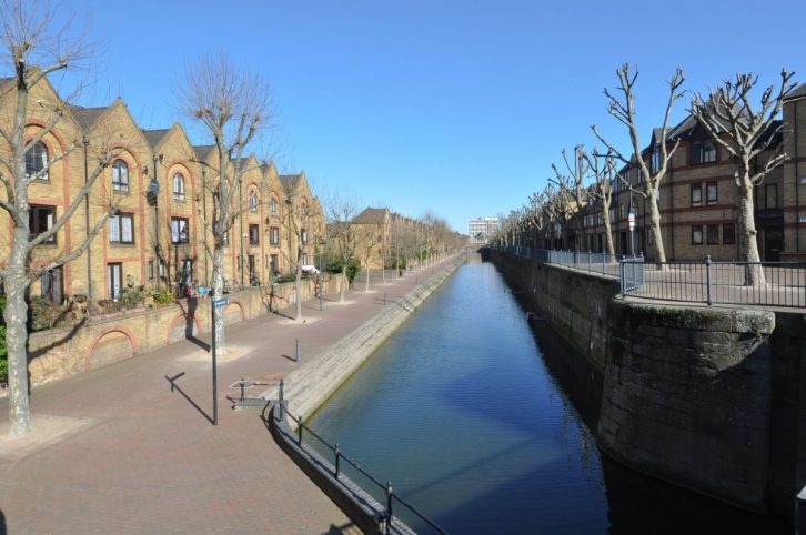 London Runs and Photo Routes - Ornamental Quay