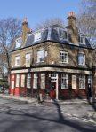 London Runs and Photo Routes - Turks Head Pub on Scandrett St