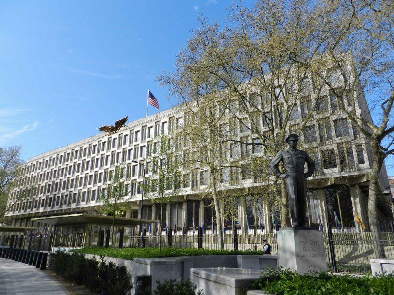 American Embassy and Eisenhower