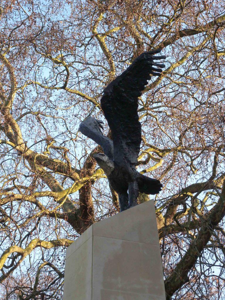 The Eagle Squadron Memorial