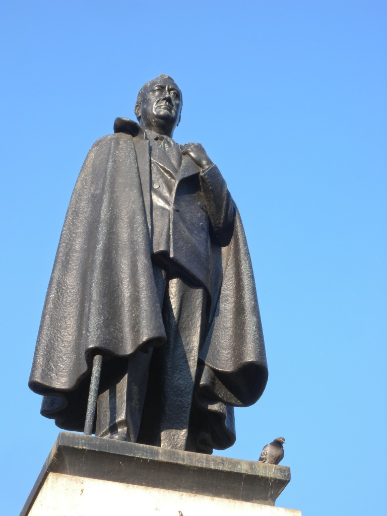 President Roosevelt statue
