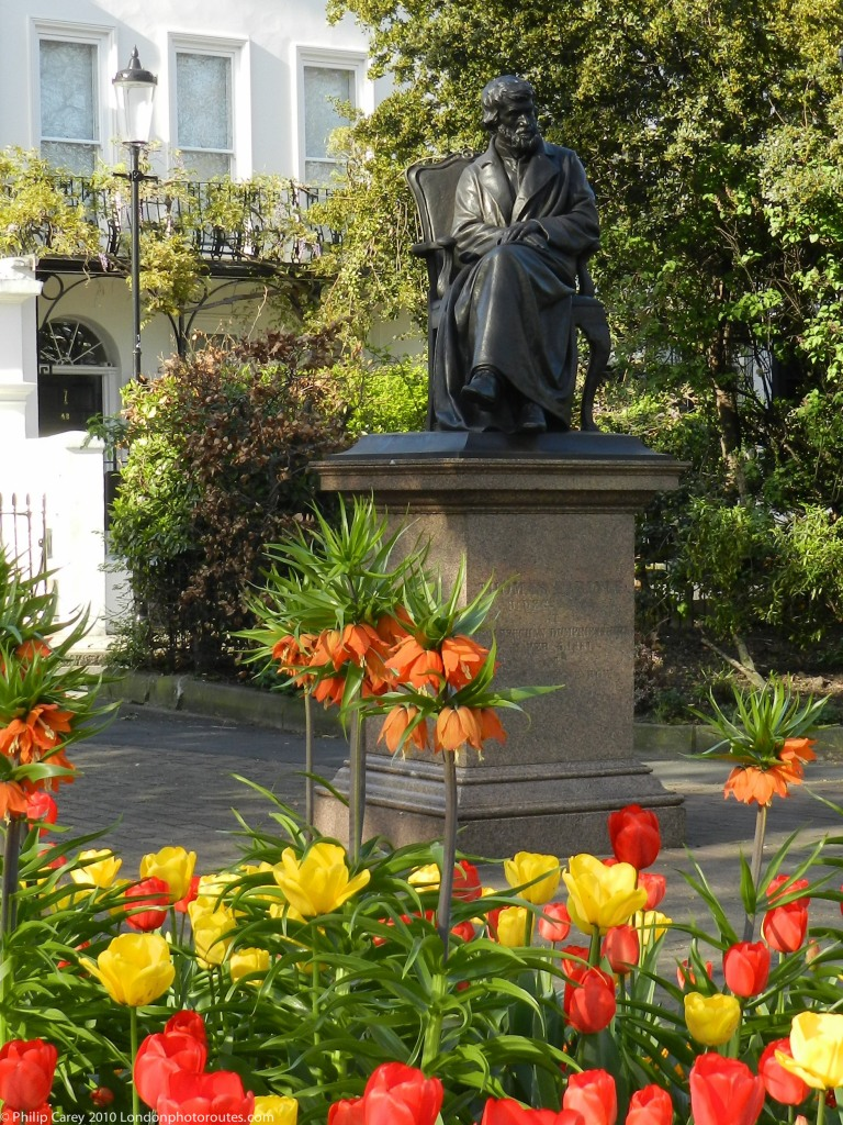 Thomas Carlyle in Chelsea Embankment Gardens