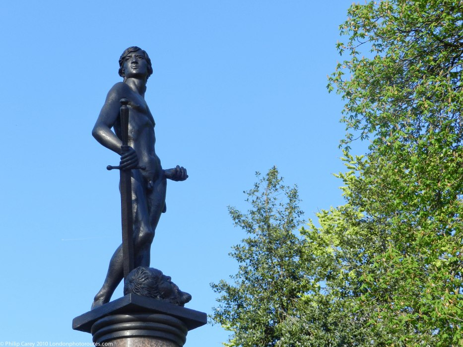 The Boy David - Machine Gun Corps Memorial