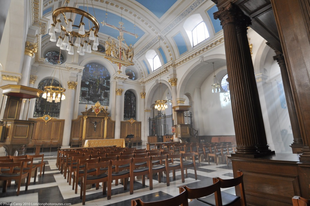 Inside St Stephens - Bank