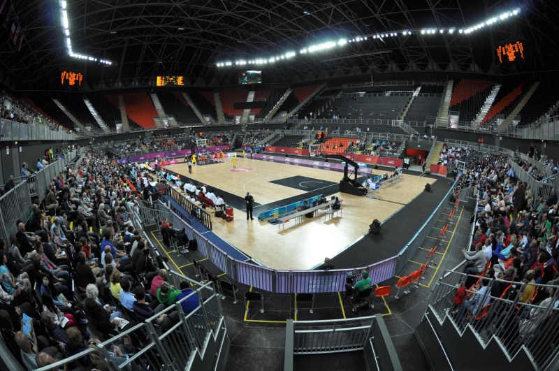 Inside View of Arena