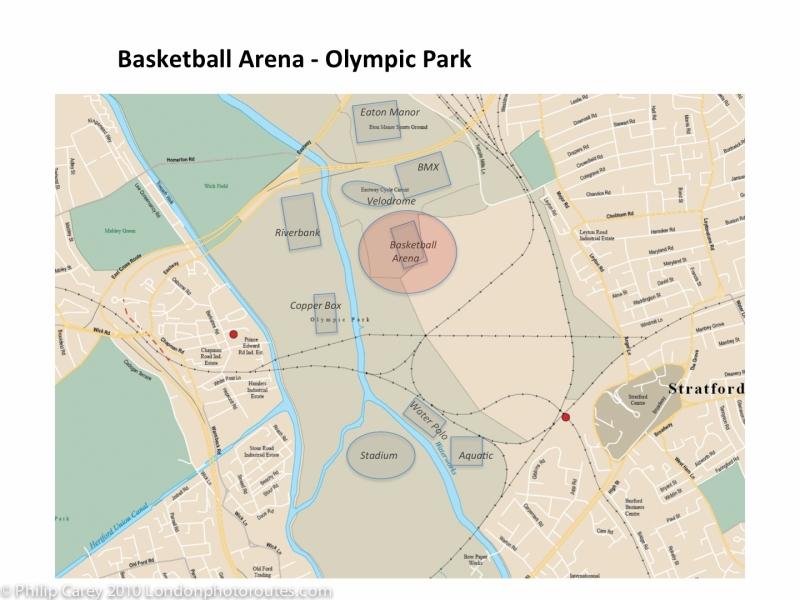 basketball arena map