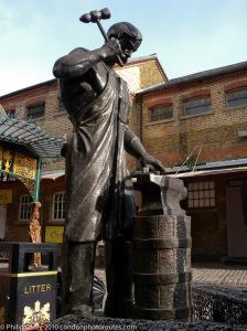 Blacksmith in Stable Yard