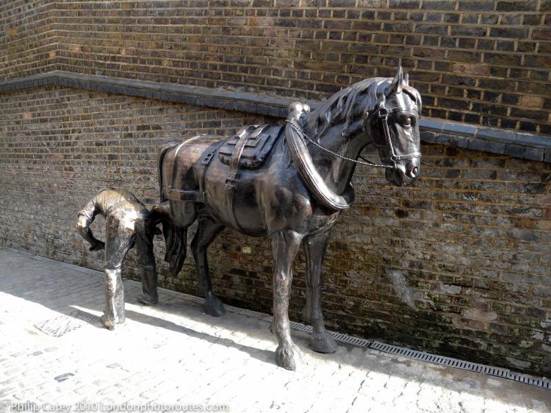 Blacksmith and Horse